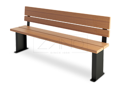 Classic bench with simple design but modern character