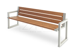 comfortable, stylish, modern benches