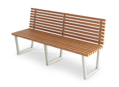 modern street benches