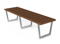 modern elegant benches without backrest