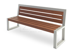 stainless steel benches to shopping centre