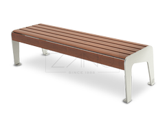 stainless steel benches without backrest