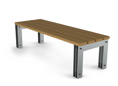 original stainless steel benches