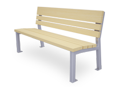 Valencia is a classic style wooden bench perfect for indoor applications