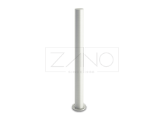 stainless polished steel bollards