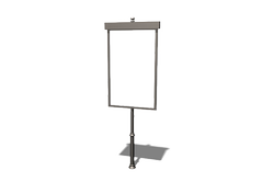 notice boards made of galvanized sheet  for regulations