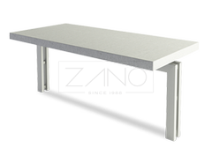Bus table made of stainless steel