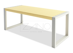 Sharp table made of durable stainless steel