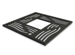 Cast iron tree grille is a great and aesthetic protection for the tree roots