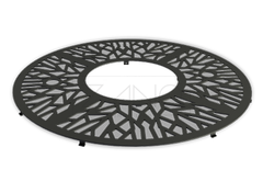 11.061 is a circualr decorative tree grille